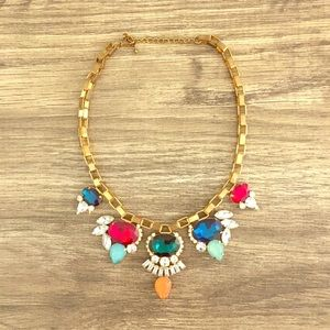 Bold and bright necklace